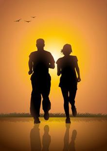 running couple sports chiropractor manhattan ks